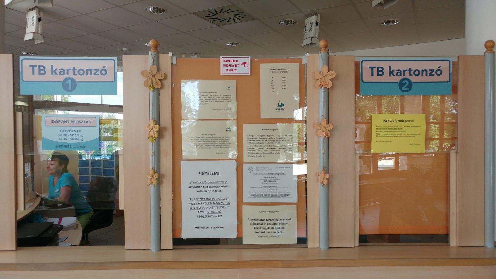 TB kartonozó átmeneti nyitvatartás változás!